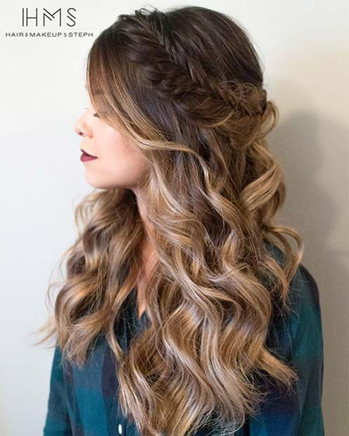 Best ideas about Fancy Hairstyles For Long Hair . Save or Pin 27 Gorgeous Prom Hairstyles for Long Hair – StayGlam Now.