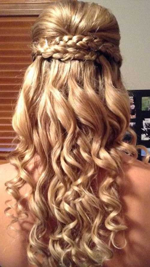 Best ideas about Fancy Hairstyles For Long Hair . Save or Pin 30 Best Prom Hairstyles for Long Curly Hair Now.