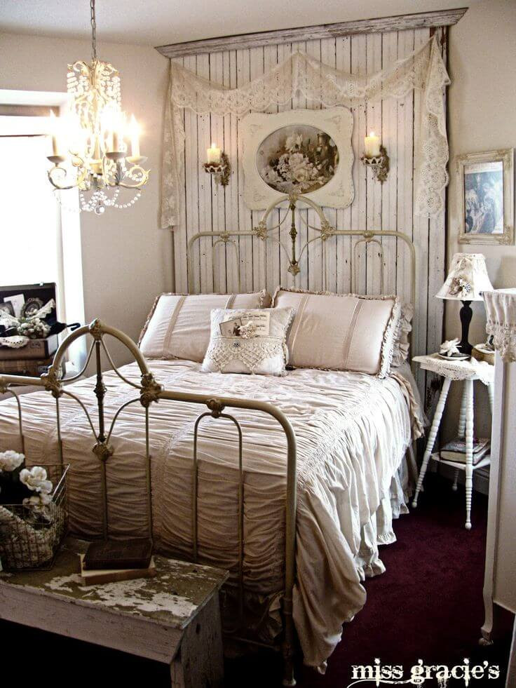 Best ideas about Farmhouse Bedroom Decor . Save or Pin 35 Best Shabby Chic Bedroom Design and Decor Ideas for 2017 Now.