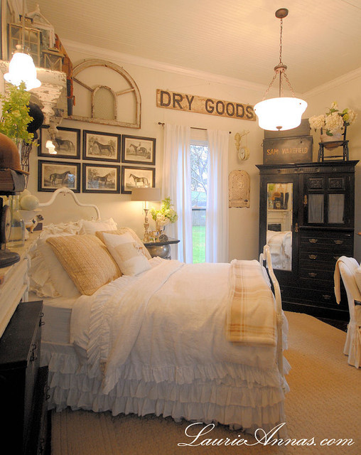 Best ideas about Farmhouse Bedroom Decor . Save or Pin Farmhouse Bedroom Farmhouse Bedroom dallas Now.