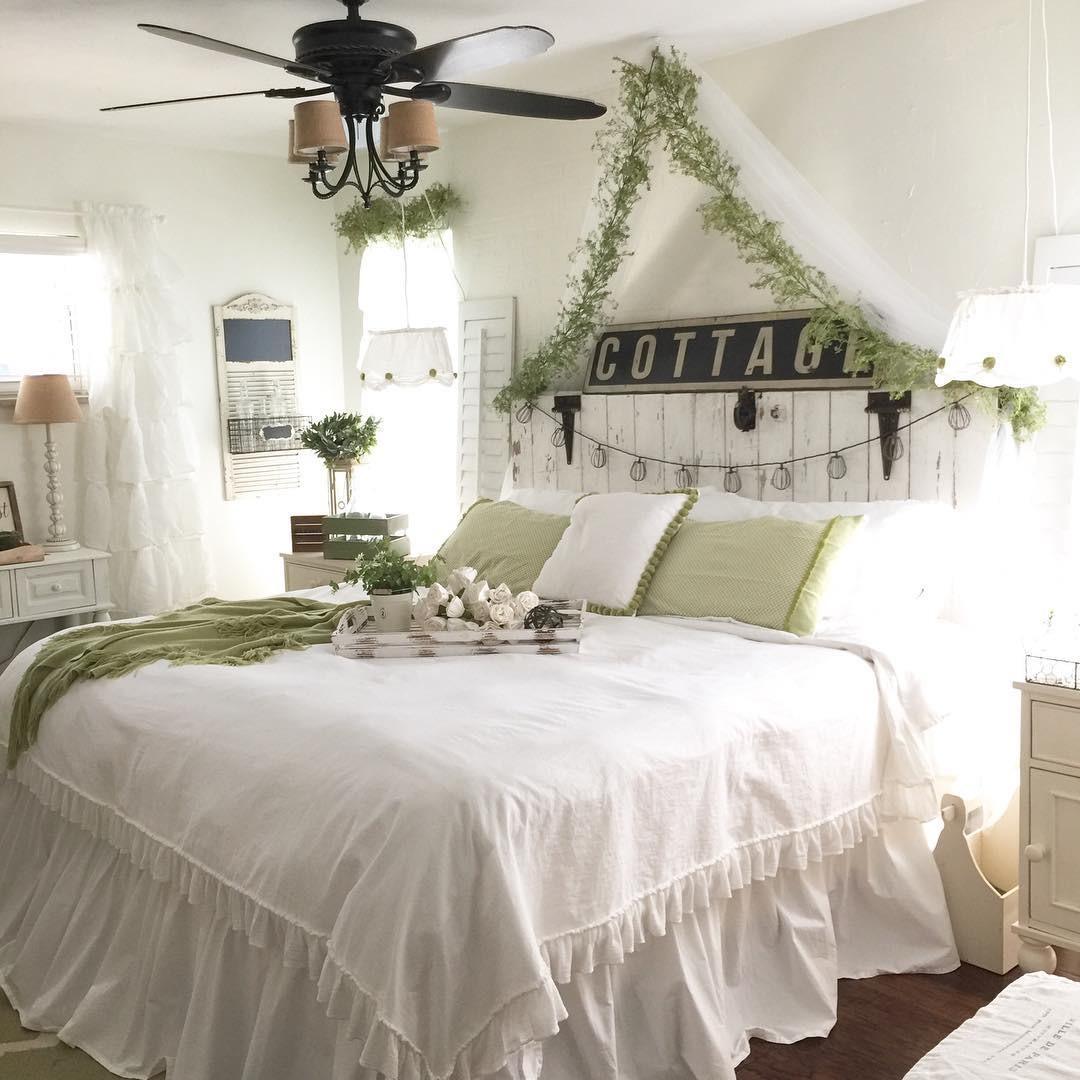 Best ideas about Farmhouse Bedroom Decor . Save or Pin Farmhouse Decorating Ideas Design & Decor Now.