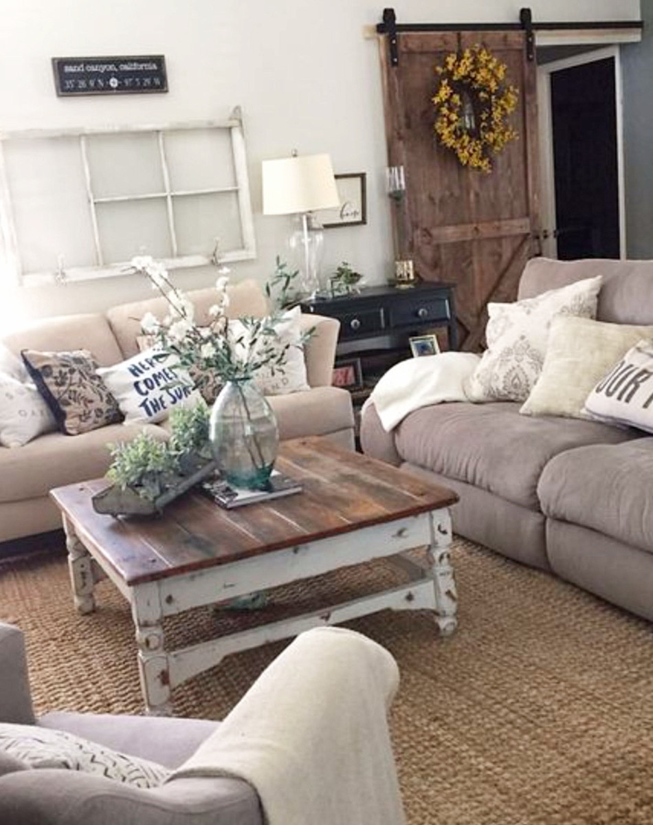 Farmhouse living rooms • modern farmhouse living room