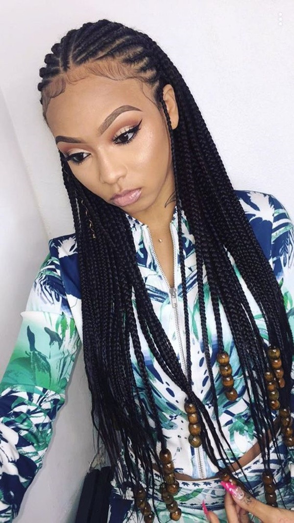 Feed In Braids Hairstyles  125 Popular Feed in Braid Hairstyles [with Tutorial]