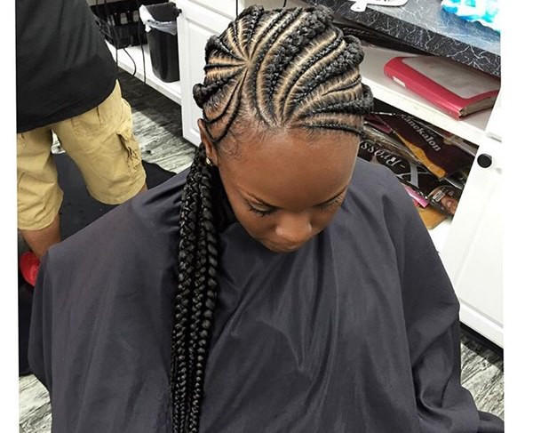 Feed In Braids Hairstyles  43 New Feed In Braids and How To Do It Style Easily