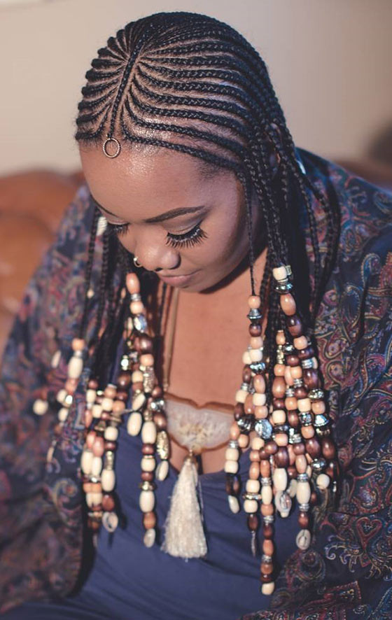 Feed In Braids Hairstyles  These Amazing Cornrow Styles Are All The Hair Inspiration