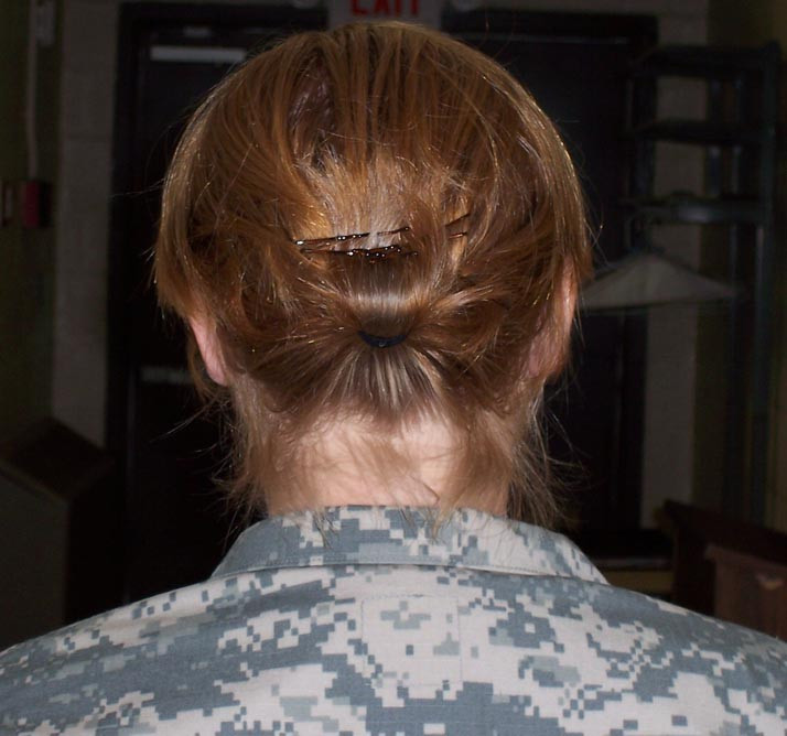 Female Army Hairstyles  Acceptable Military Haircuts For Women