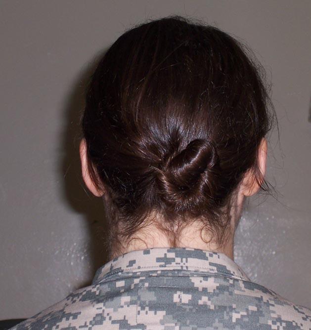 Female Army Hairstyles  Army Hairstyles Females