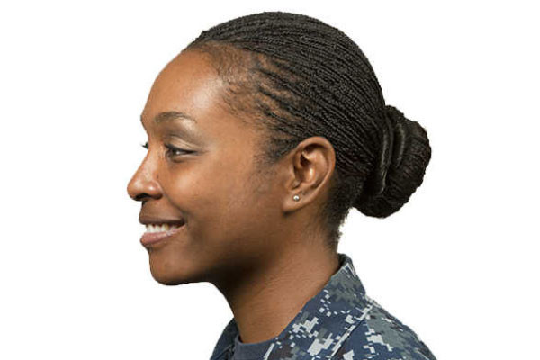 Female Authorized Hairstyles Army  Navy Female Hair Regulations