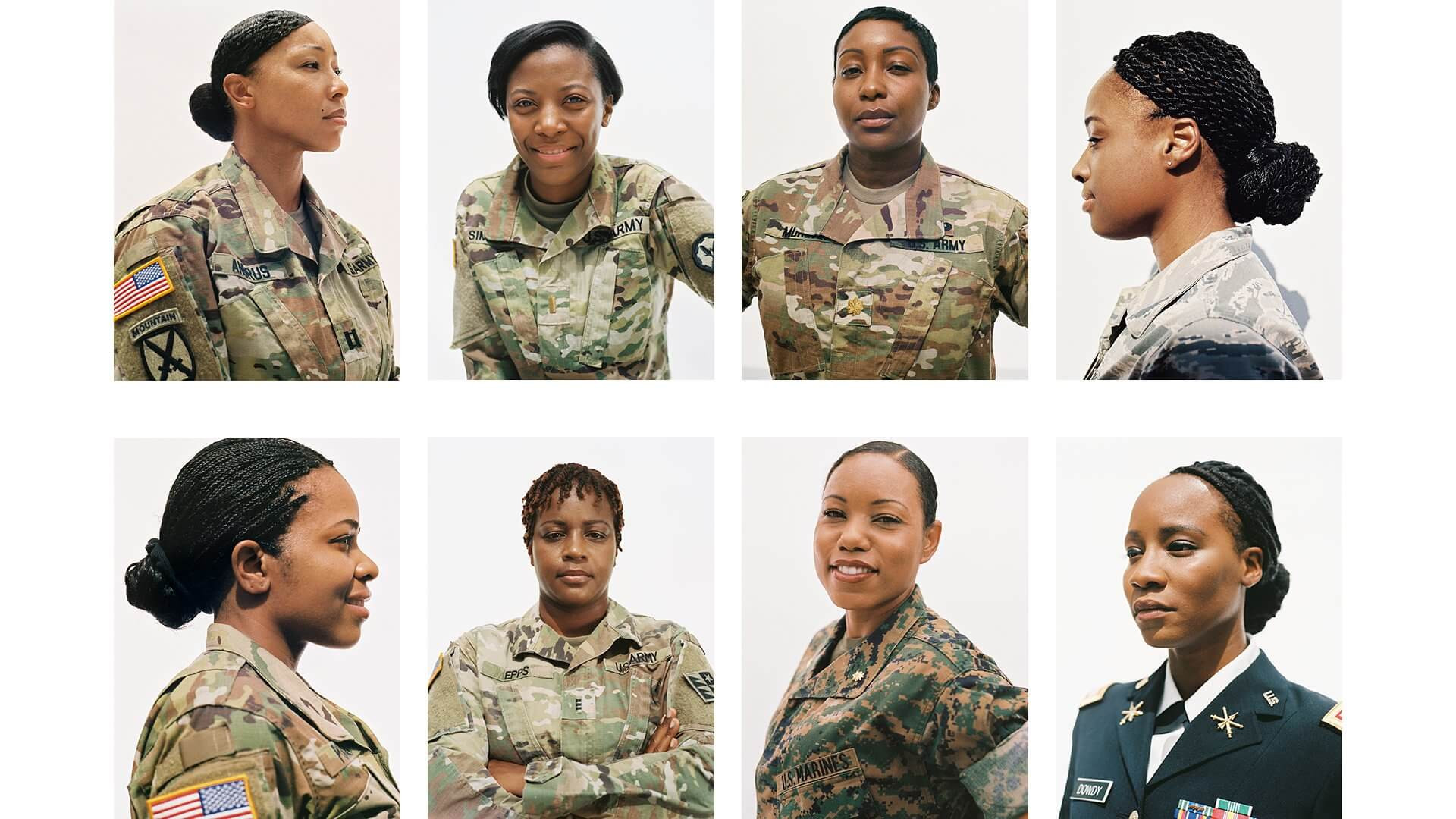 Female Authorized Hairstyles Army  Natural Hairstyles for Gals in the Military Alikay Blog