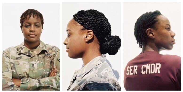 Female Authorized Hairstyles Army  army black women hairstyles authorized natural hairstyles
