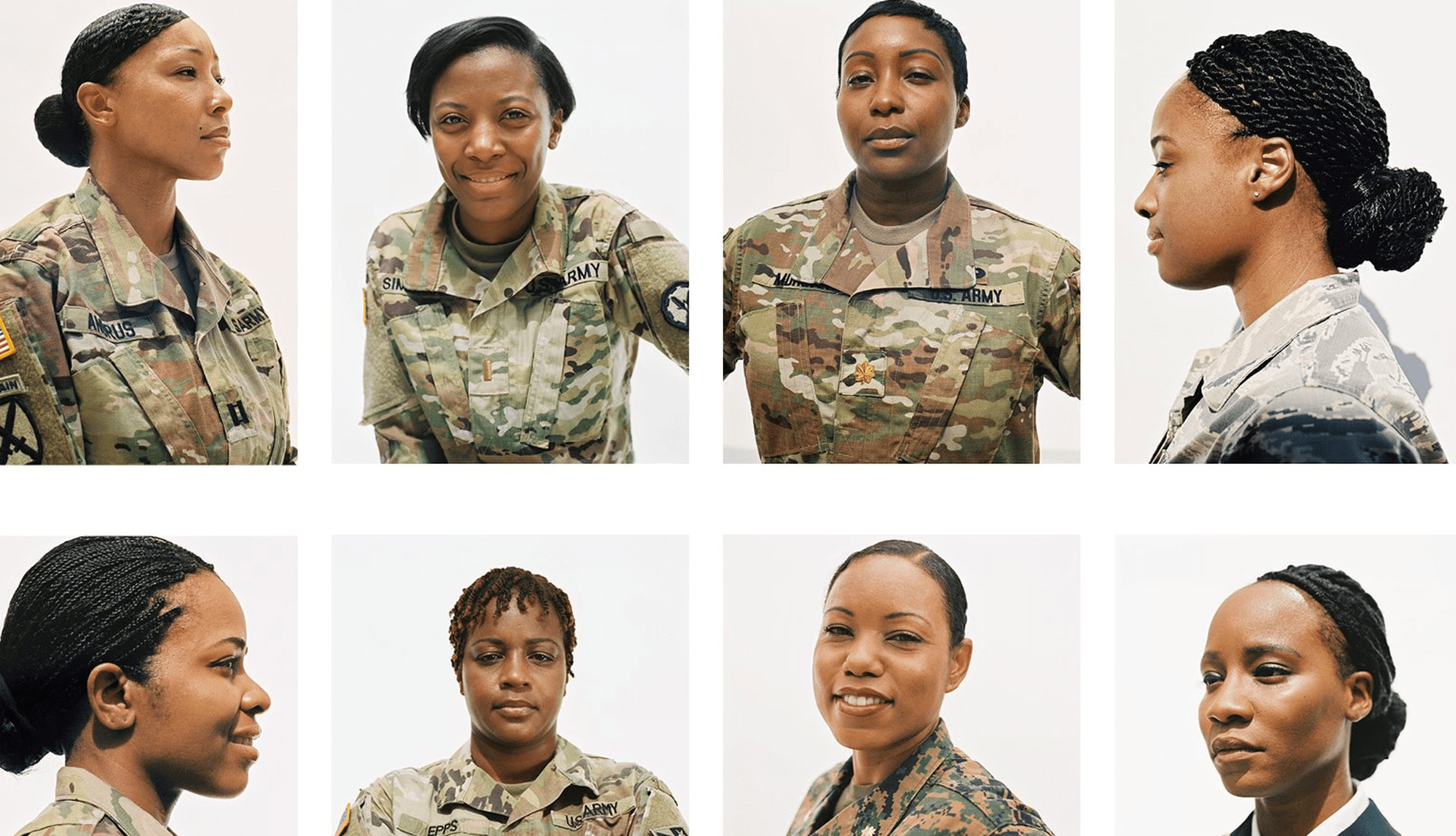 Female Authorized Hairstyles Army  Female Military Hairstyles