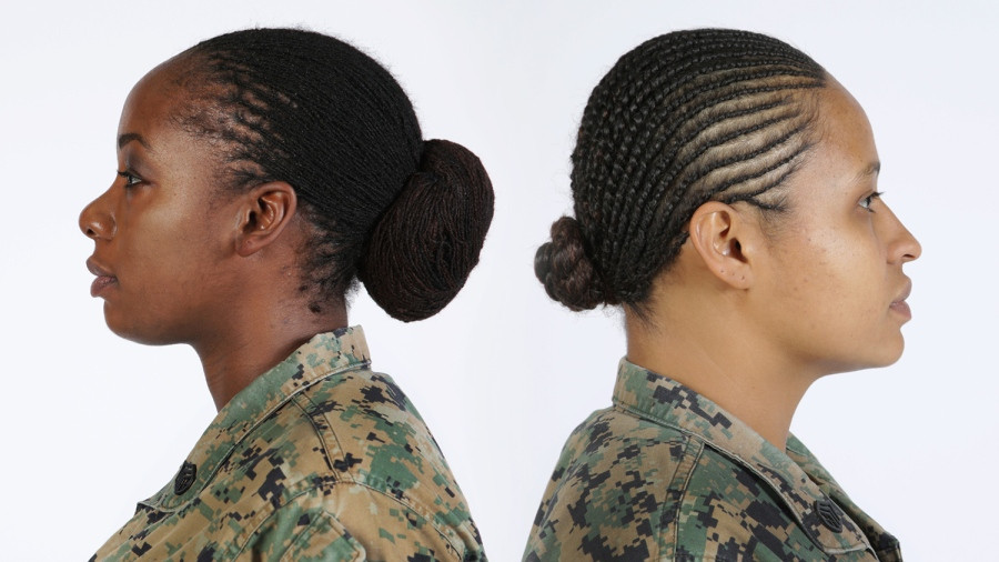 Female Authorized Hairstyles Army  Female Marines in uniform can now wear locks and twists in