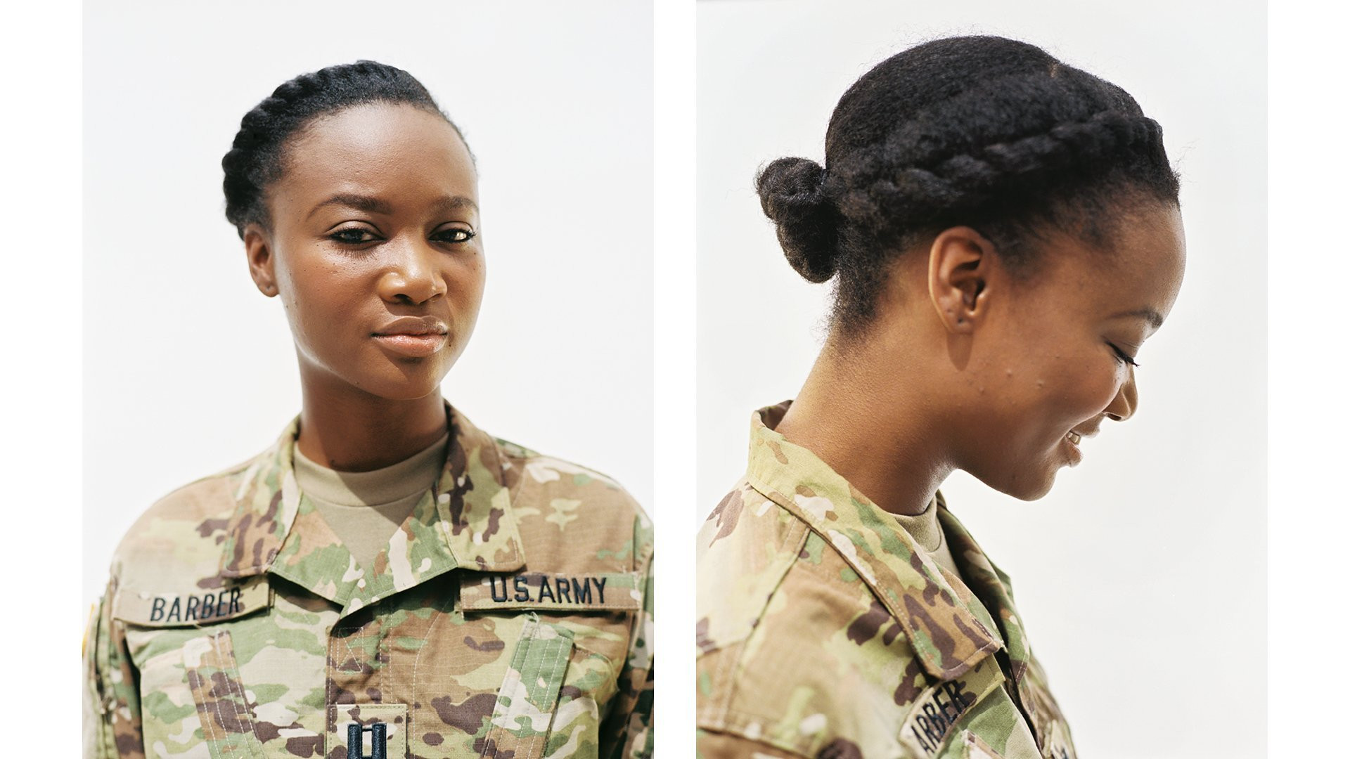 Female Authorized Hairstyles Army  military approved haircuts for women vogue profiles women