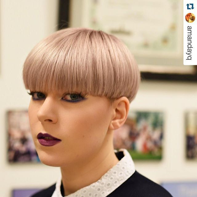Female Bowl Haircuts  527 best Bowlcuts & Mushrooms 2 images on Pinterest