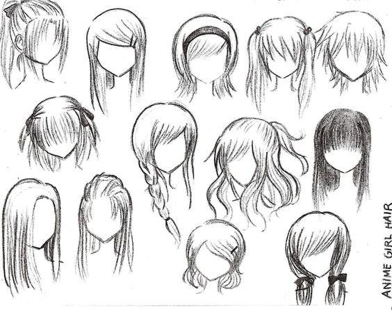 Best ideas about Female Hairstyles Anime . Save or Pin Pinterest • ein Katalog unendlich vieler Ideen Now.