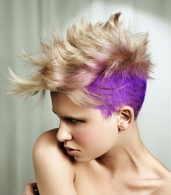 Female Mohawk Hairstyles  Mohawk Hairstyles for Women with Short and Long Hair