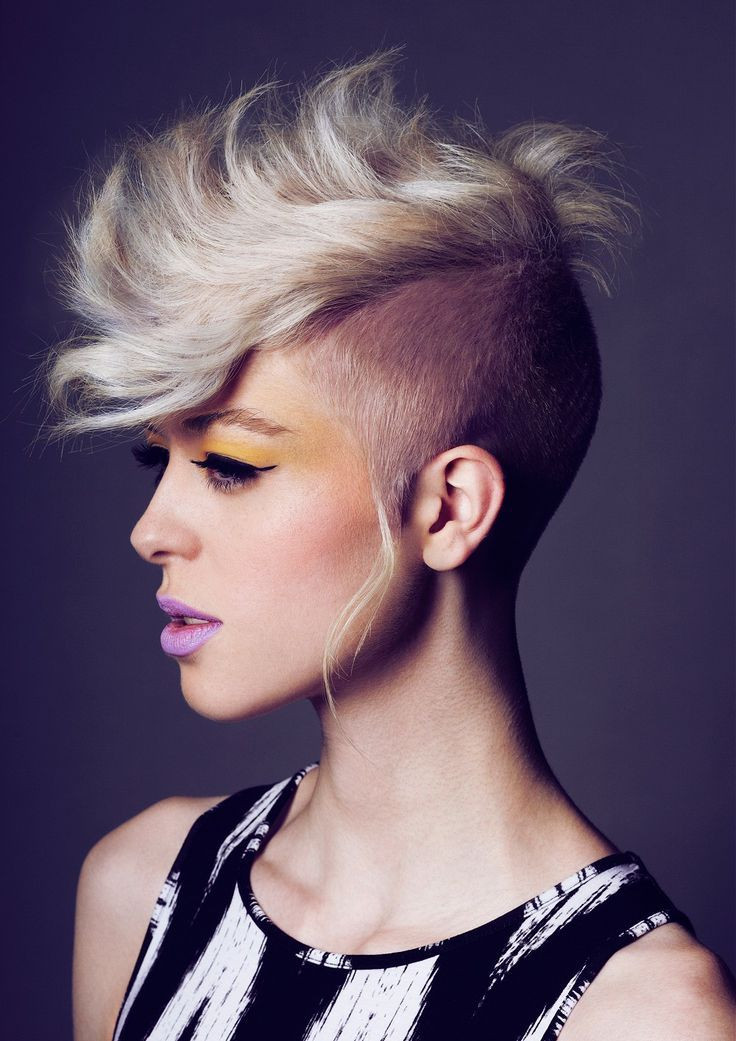 Female Mohawk Hairstyles  1000 images about Hairstyles I Love on Pinterest