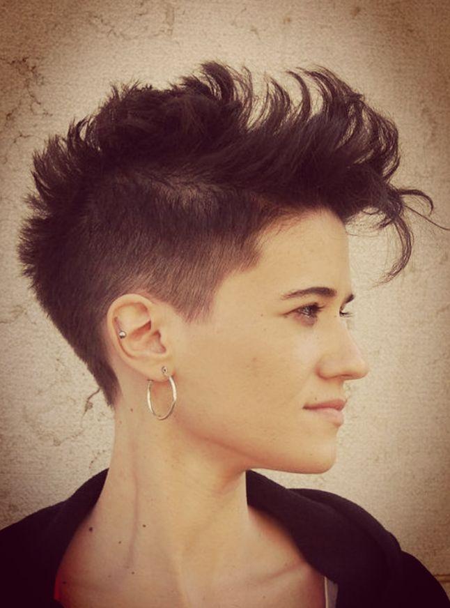Female Mohawk Hairstyles  1260 besten Haircuts Bilder auf Pinterest