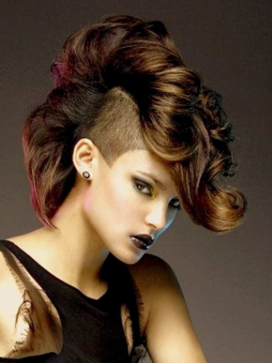Female Mohawk Hairstyles  Mohawks Hairstyles For Women Hairstyle Archives
