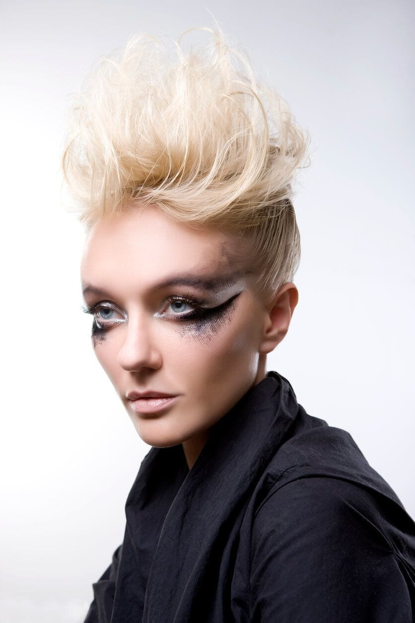 Female Mohawk Hairstyles  8 Fashionable Mohawk Hairstyles for Women From Haute to