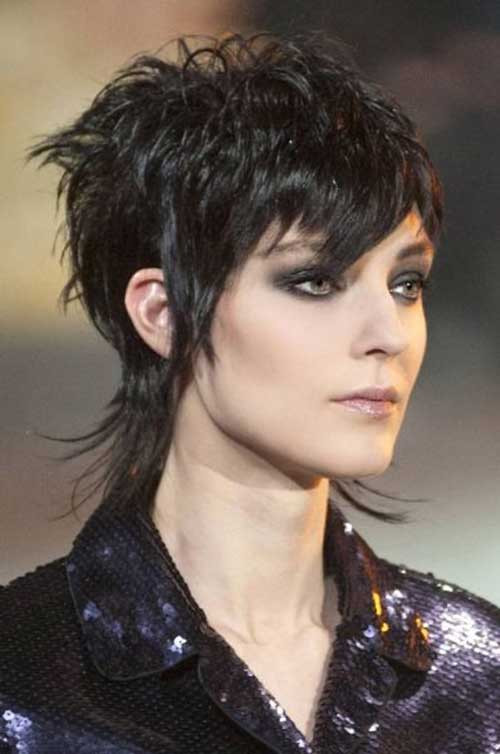 Female Mullet Hairstyles Photos  30 Short Trendy Hairstyles 2014