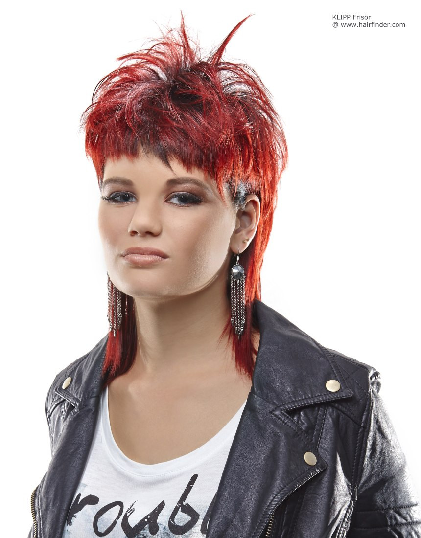 Female Mullet Hairstyles Photos  Women'S Mullet Hairstyles