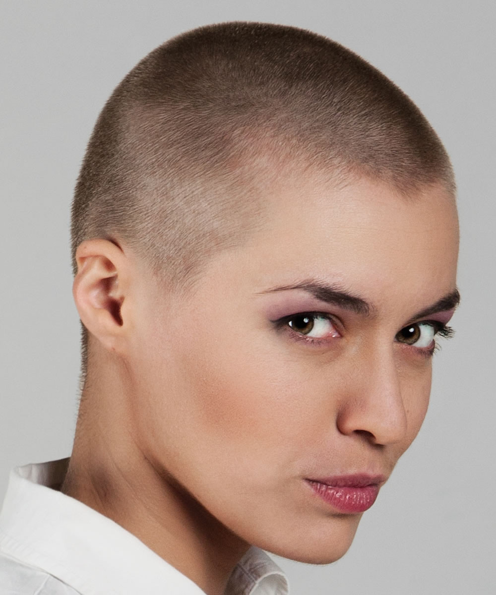 Female Shaved Haircuts  Trends Bald haircuts & headshave for women 2018 2019