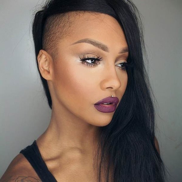 Female Shaved Hairstyles  50 Shaved Hairstyles That Will Make You Look Like a Badass