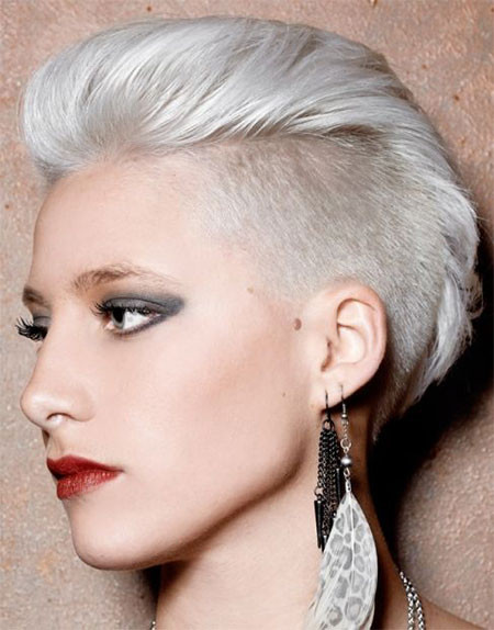 Female Shaved Hairstyles  30 New e Sided Shaved Hairstyles & Haircuts For Girls