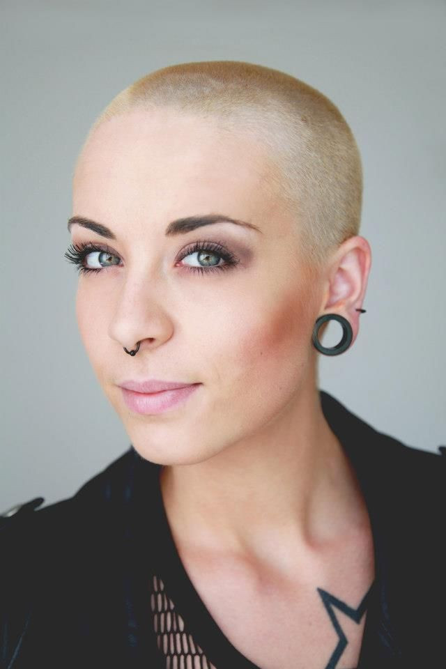 Best ideas about Female Shaved Head Hairstyles . Save or Pin 69 best Bald women are y MEOW images on Pinterest Now.