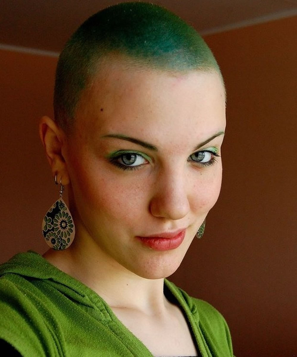 Best ideas about Female Shaved Head Hairstyles . Save or Pin Trends Bald haircuts & headshave for women 2018 2019 Now.