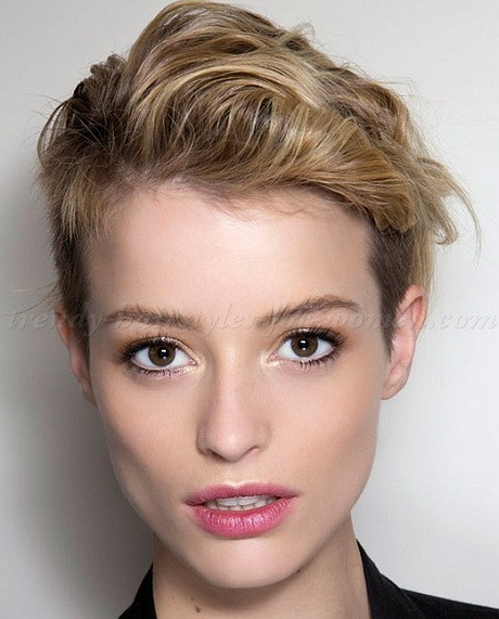 Female Undercut Hairstyle  Short shaved hairstyles for women