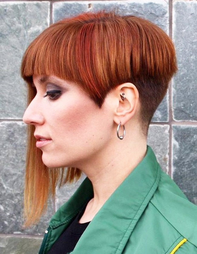 Female Undercut Hairstyle  Women Hairstyle Trend in 2016 Undercut hair