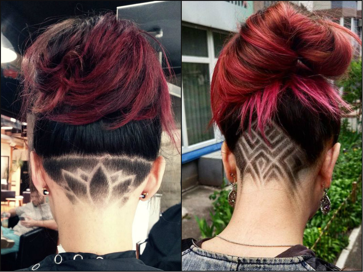 Female Undercut Hairstyle  Cool Undercut Female Hairstyles To Show f
