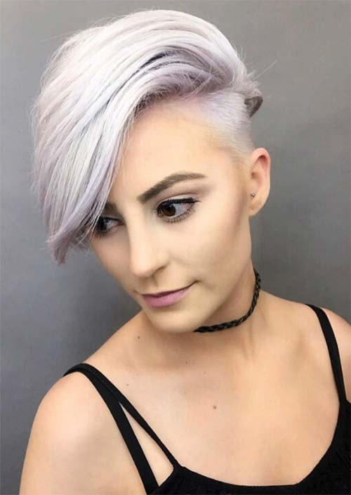 Female Undercut Hairstyles  51 Edgy and Rad Short Undercut Hairstyles for Women Glowsly