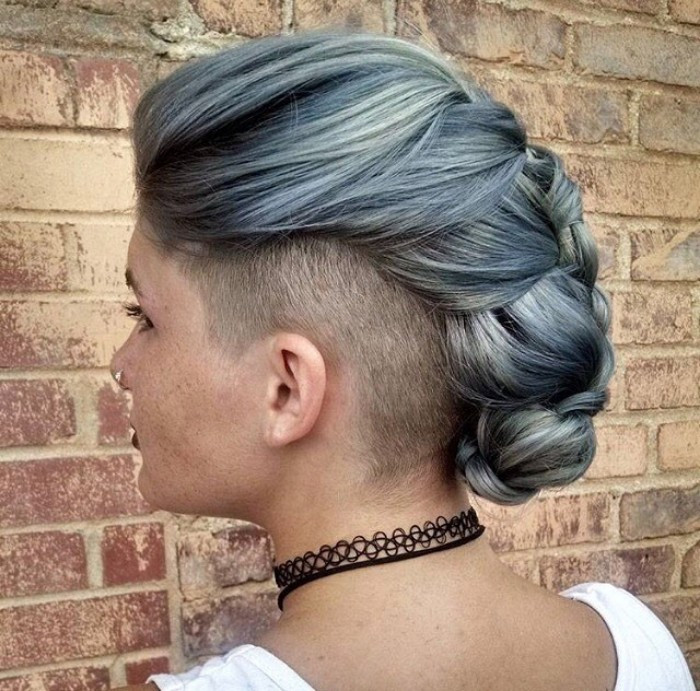 Female Undercut Hairstyles  Female Undercut Long Hair Designs