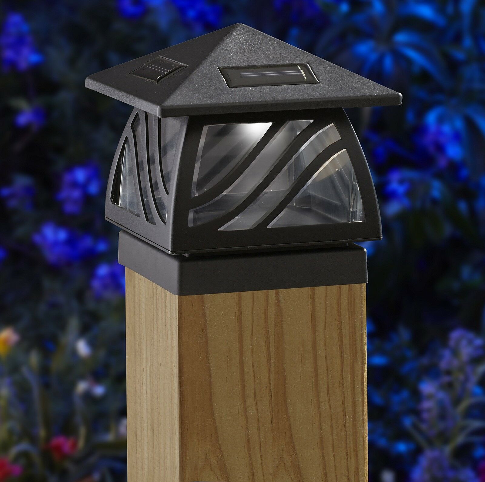 Best ideas about Fence Post Lights . Save or Pin Moonrays Solar LED Post Cap Outdoor Light for 4x4 Now.