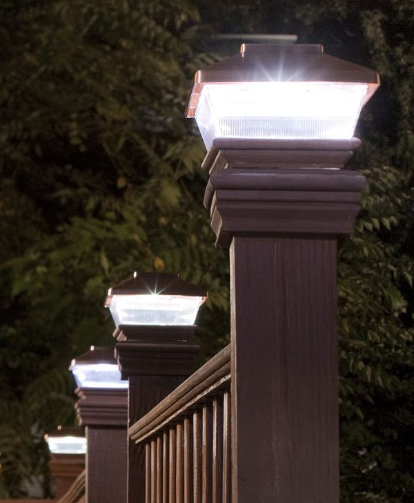 Best ideas about Fence Post Lights . Save or Pin Best 25 Fence post caps ideas on Pinterest Now.