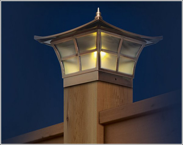 """Best ideas about Fence Post Lights . Save or Pin The way of the solar """"panel"""" may be reaching the end of Now."""