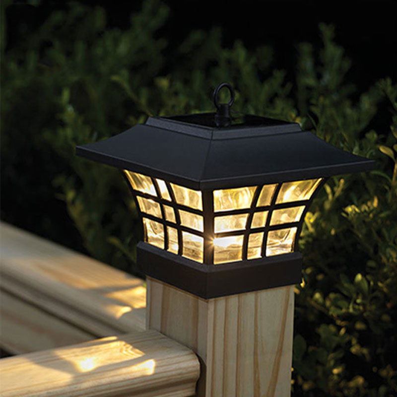 Best ideas about Fence Post Lights . Save or Pin Fence Post Lighting Now.