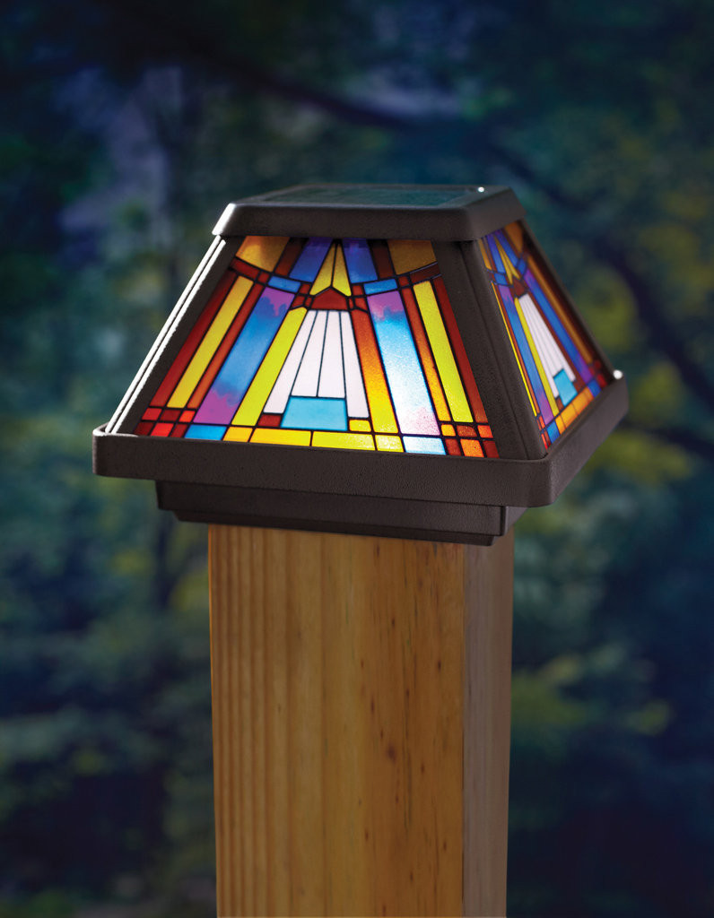 Best ideas about Fence Post Lights . Save or Pin Fence post lights outdoor style and security of your Now.