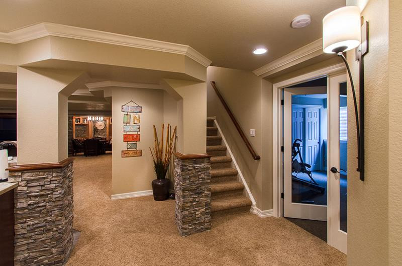 Best ideas about Finish Basement Ideas . Save or Pin 27 Luxury Finished Basement Designs Page 2 of 5 Now.