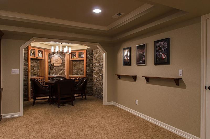 Best ideas about Finish Basement Ideas . Save or Pin 25 Inspiring Finished Basement Designs Now.