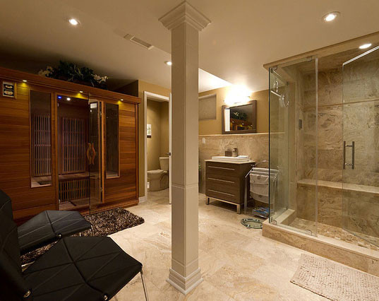 Best ideas about Finishing A Basement Ideas . Save or Pin 45 Amazing Luxury Finished Basement Ideas Now.