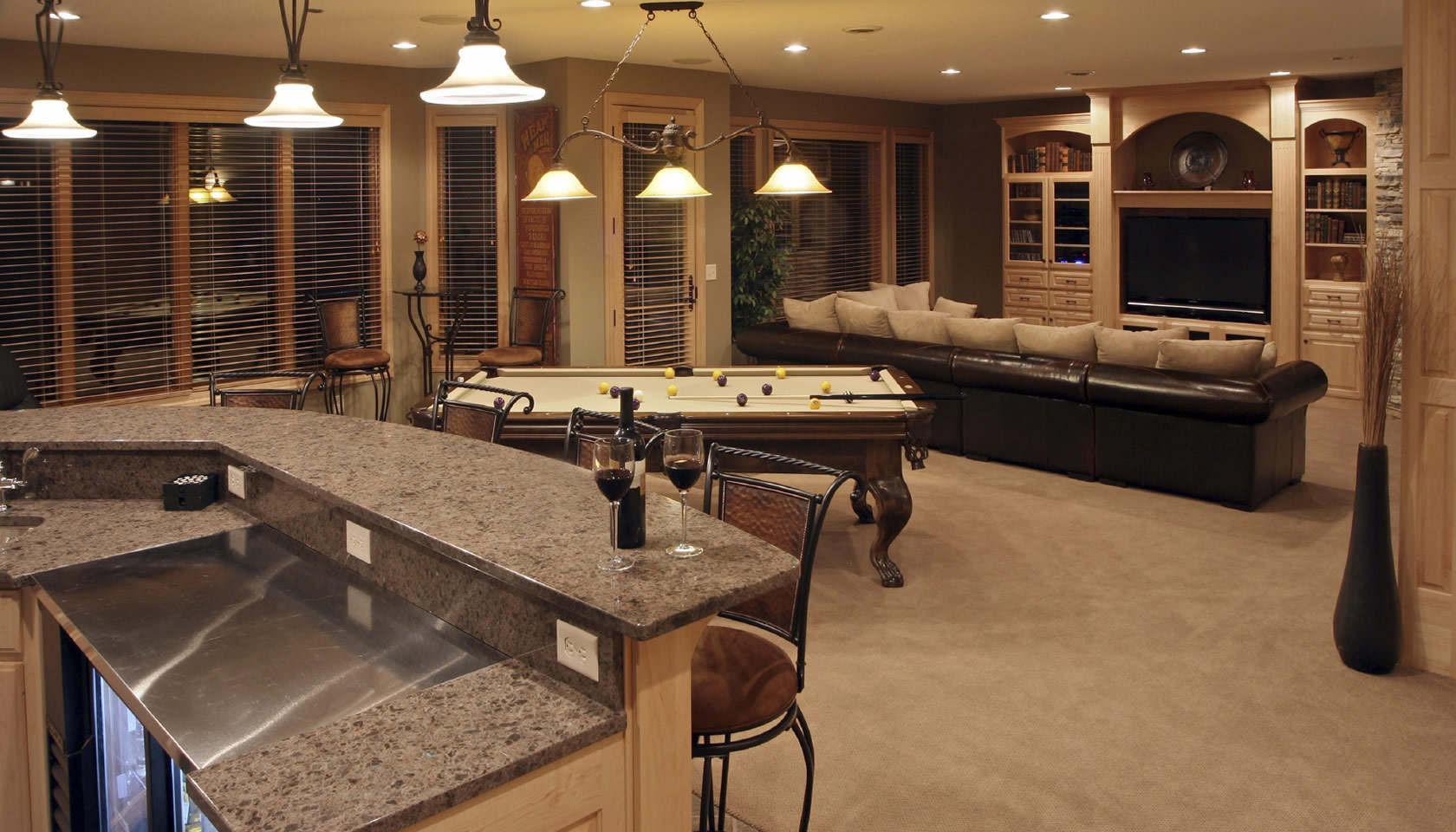 Best ideas about Finishing A Basement Ideas . Save or Pin Basement Finishing Ideas with Stunning Interior Designs Now.