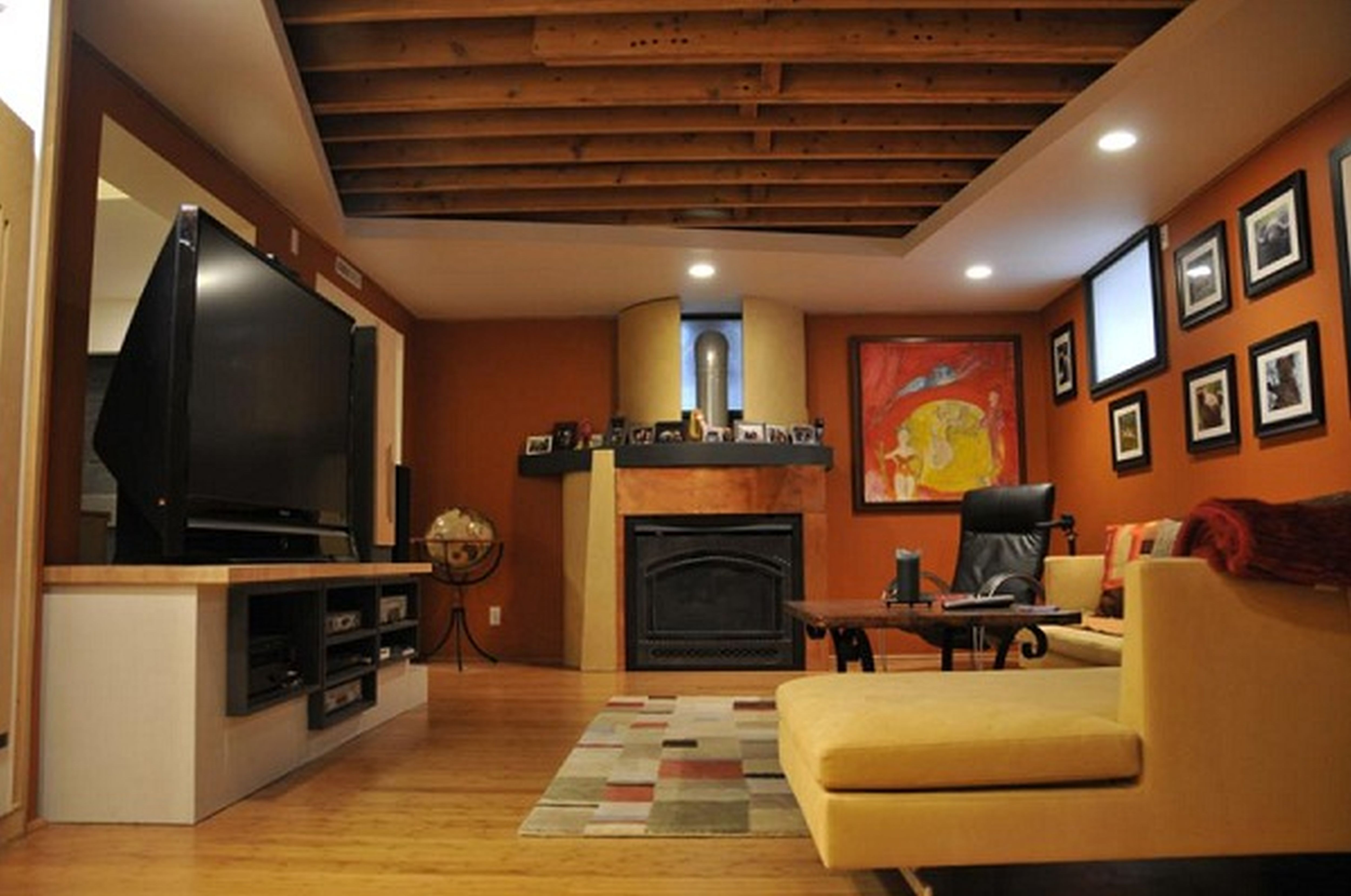 Best ideas about Finishing A Basement Ideas . Save or Pin Cool Basement Ideas for Entertainment Traba Homes Now.