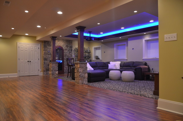Best ideas about Finishing A Basement Ideas . Save or Pin Finished basement ideas – photos tips and cost estimates Now.