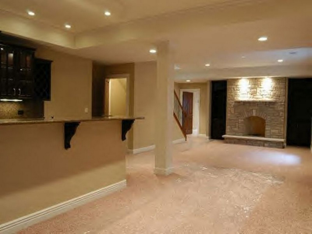 Best ideas about Finishing A Basement Ideas . Save or Pin Basement Remodeling Ideas Basement Finishing Cost Now.