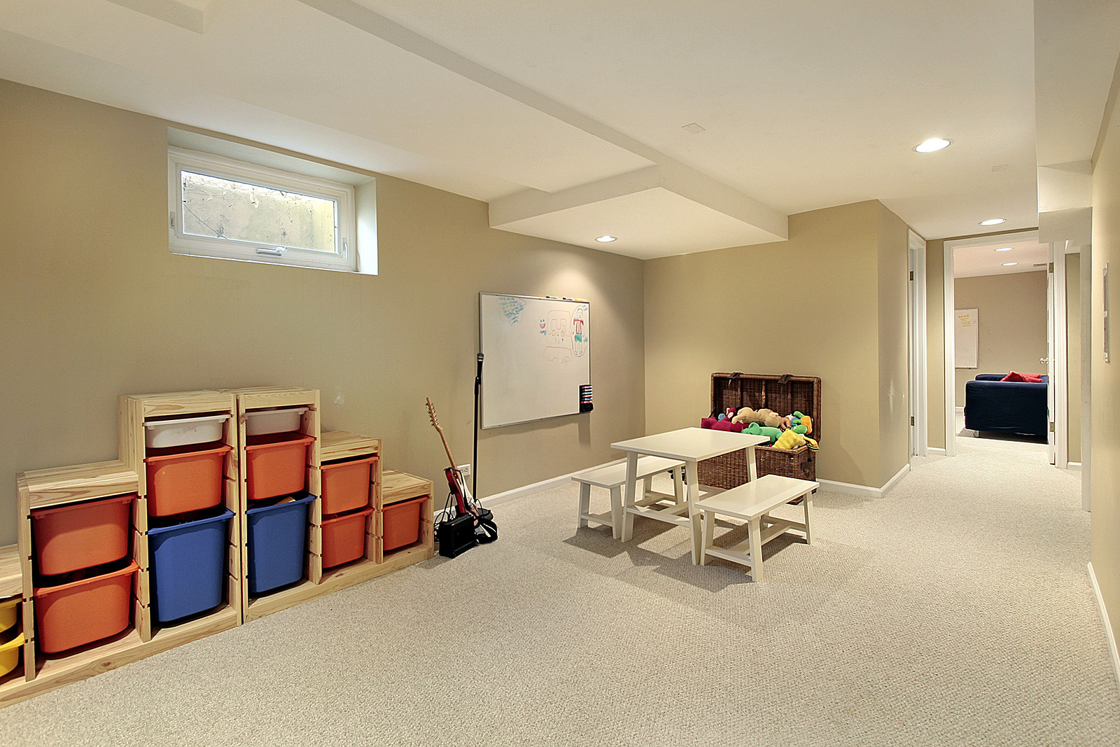 Best ideas about Finishing A Basement Ideas . Save or Pin Not Sure What to do With Your 'Blank Canvas' Basement Now.