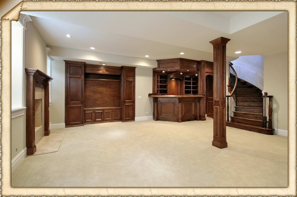 Best ideas about Finishing A Basement Ideas . Save or Pin Cheap Basement Ideas Choosing the Right Room Decors Now.